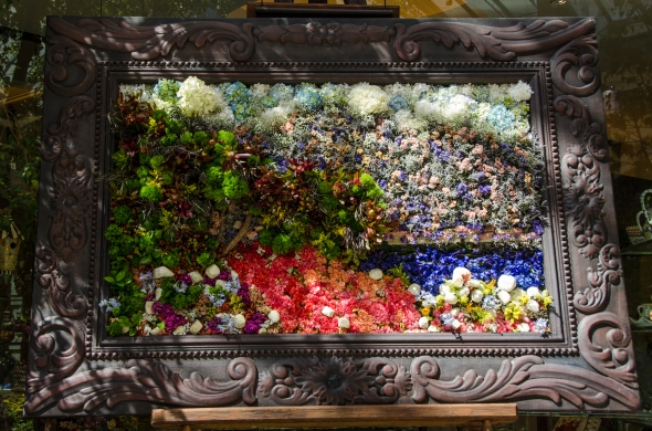 Monet in Flowers, Bellagio Conservatory, Las Vegas