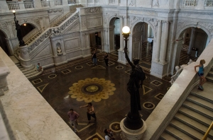 The Zodiac Floor in the Great Hall , Library of Congress