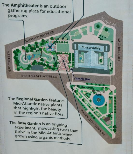 A Garden And A Festival US Botanic Garden And Kaypi Peru - Us botanic garden map
