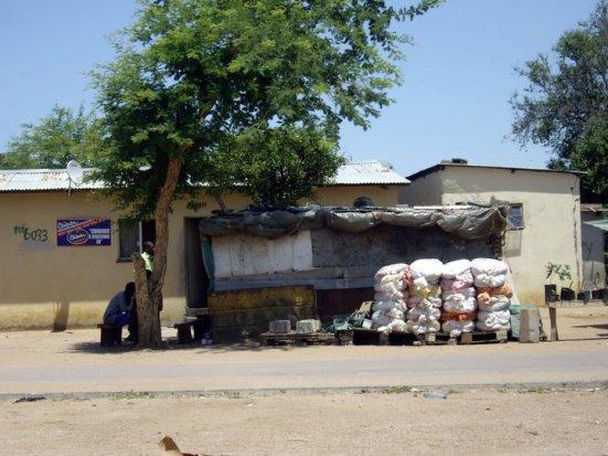 A chibuku depot, Gaborone, Botswana