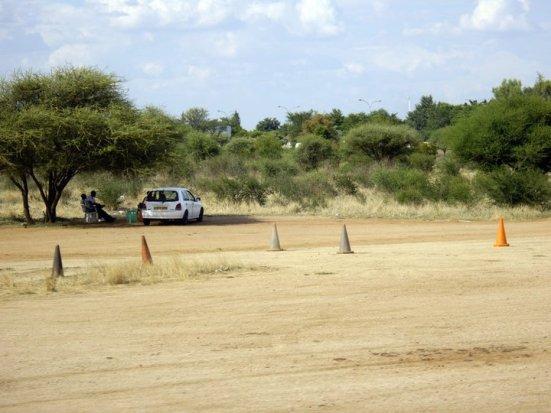 A driving school, Gaborone, Botswana
