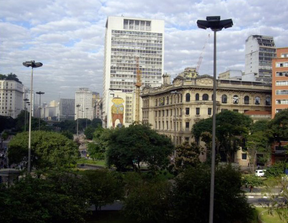 Early morning walk in Sao Paulo, Brazil
