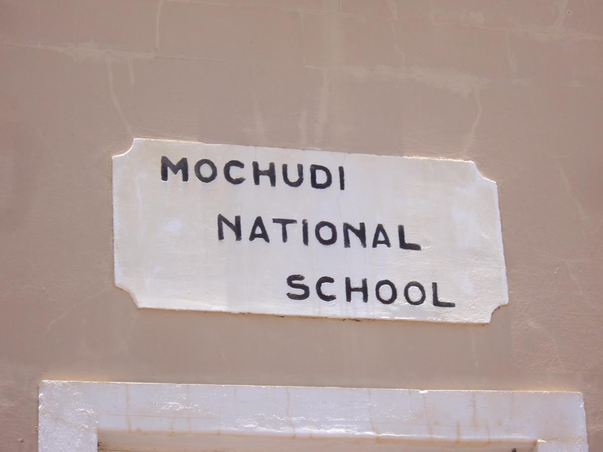 Mochudi school, now a museum, Botswana
