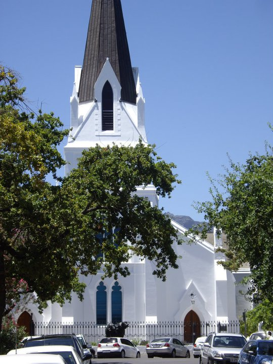 Moederkerk, or Mother Church, Stellenbosch, South Africa