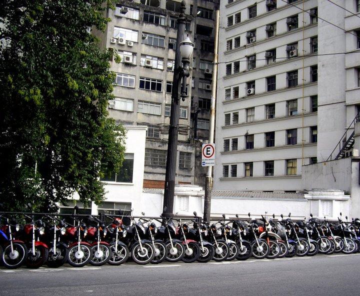 Motorbikes, Sao Paulo, Brazil