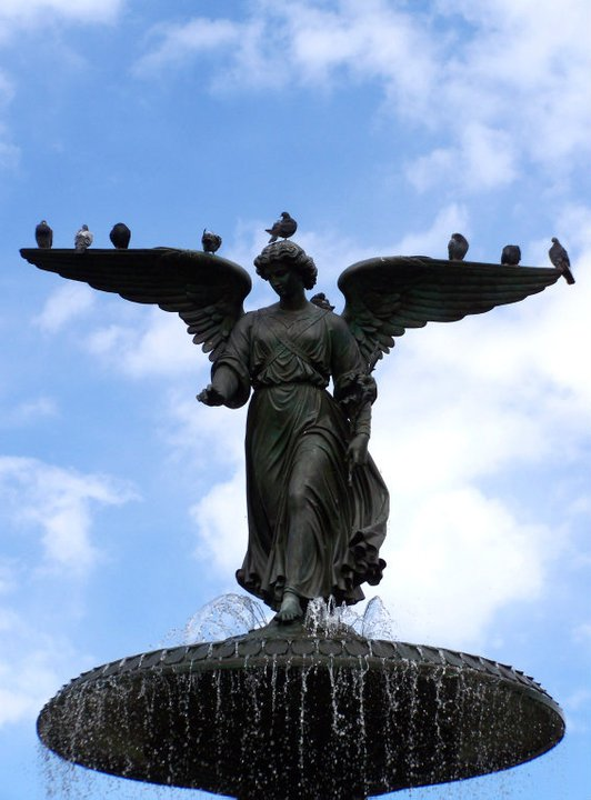 Angel of the Waters at the Bethesda Fountain, Central Park, New York City