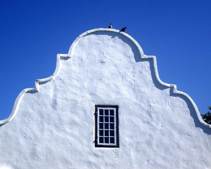 Dutch Cape house in Stellenbosch, South Africa