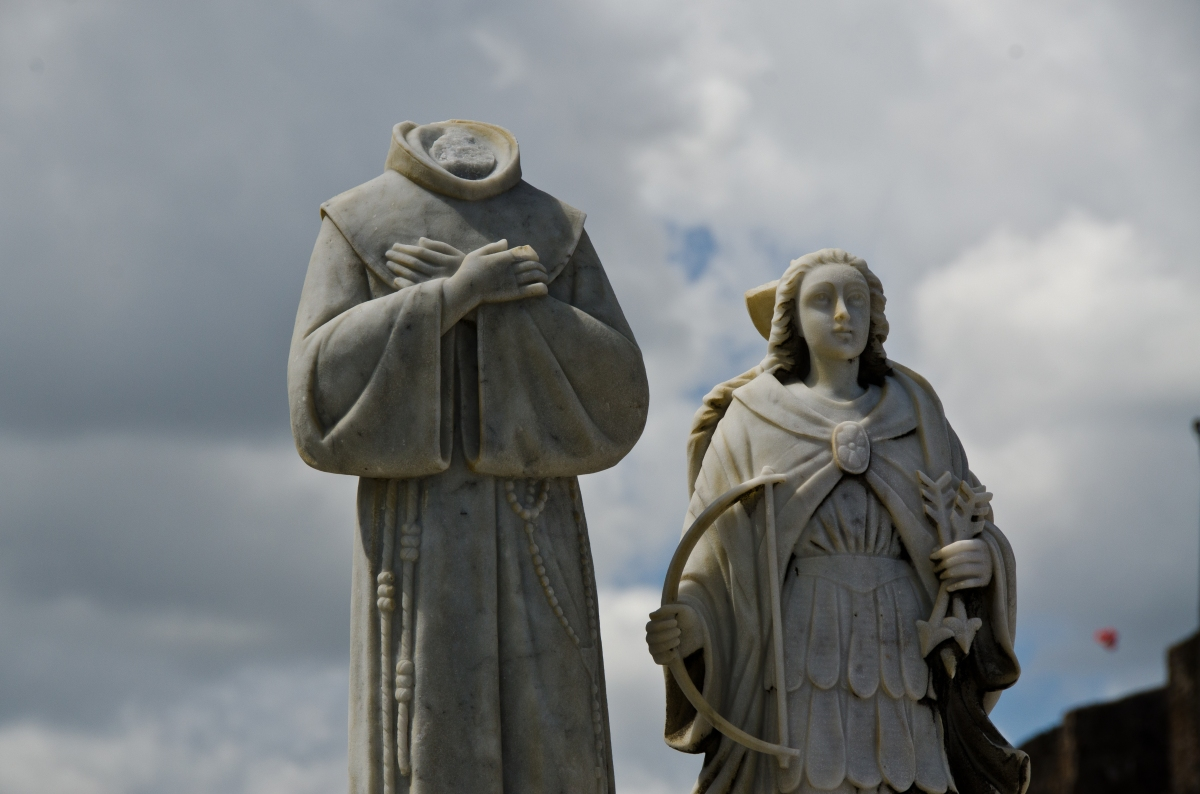Denizens of San Juan Cemetery, Puerto Rico