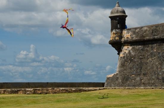 El Morro kites, Puerto Rico