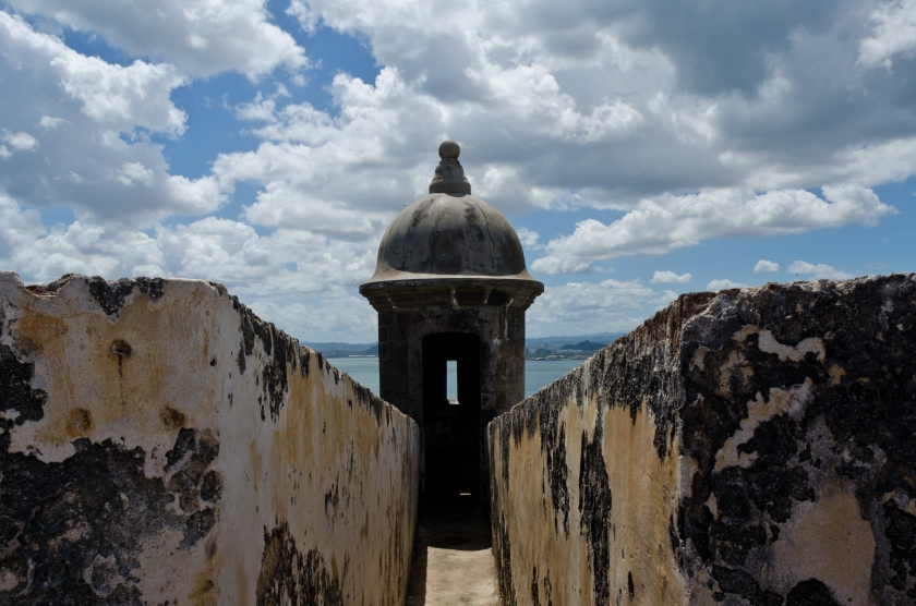 El Morro sentry towers, Puerto Rico
