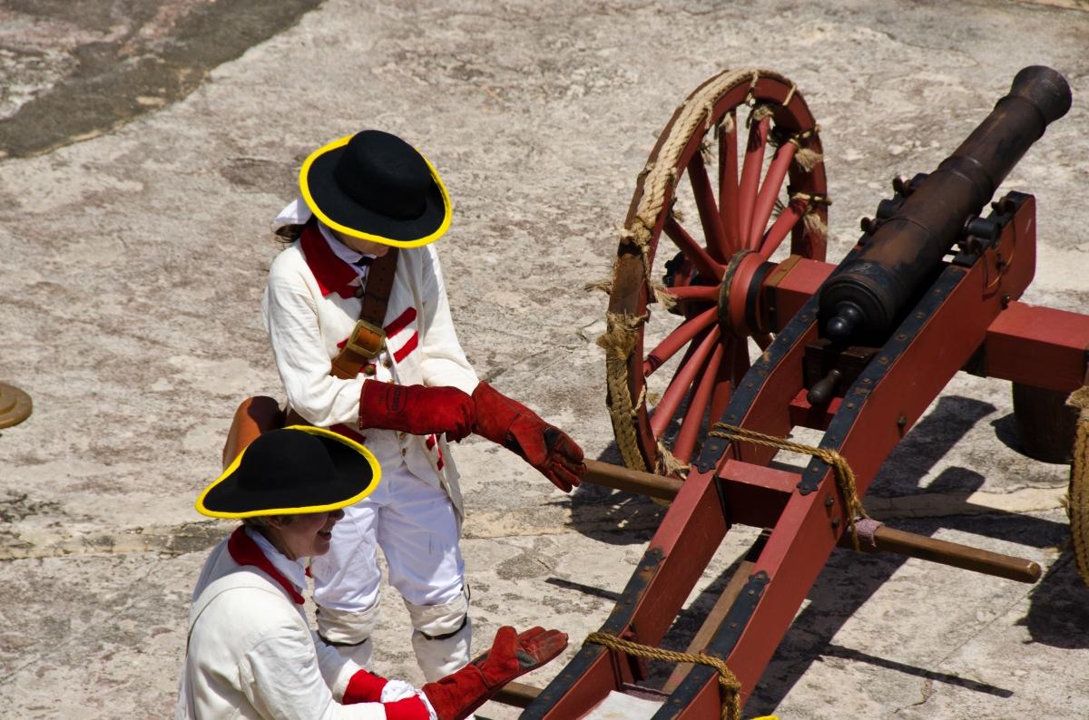 Cannons of El Morro, Puerto Rico