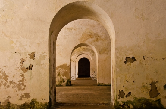 Rooms of El Morro, Old San Juan