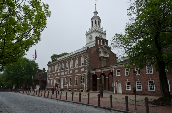 The Independence Hall, Philadelphia