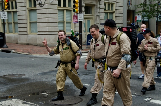 Ghostbusters in Philadelphia