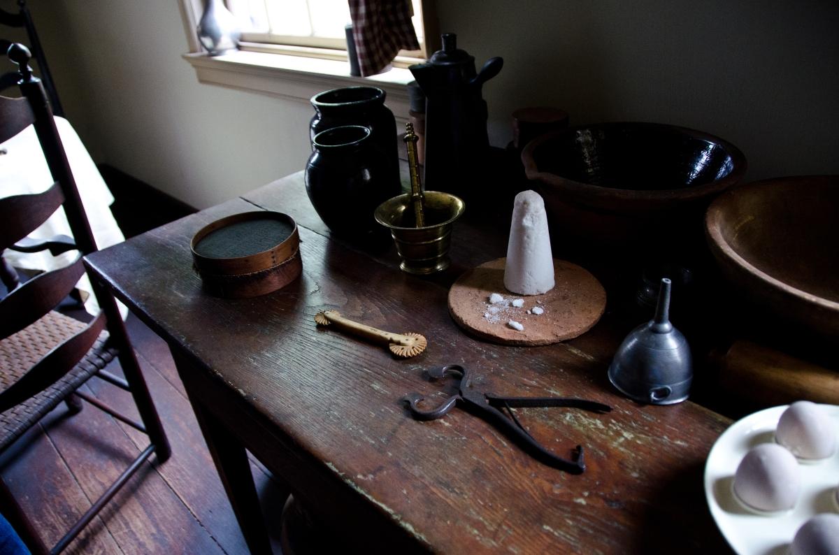 Kitchen of the Bishop White House, Philadelphia