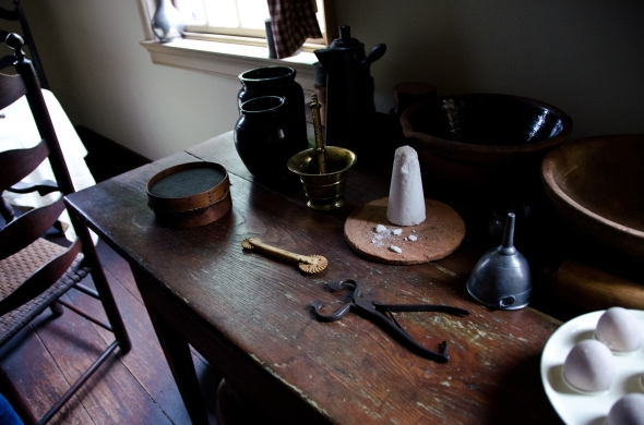 Kitchen of the Bishop White House, Philadelphia