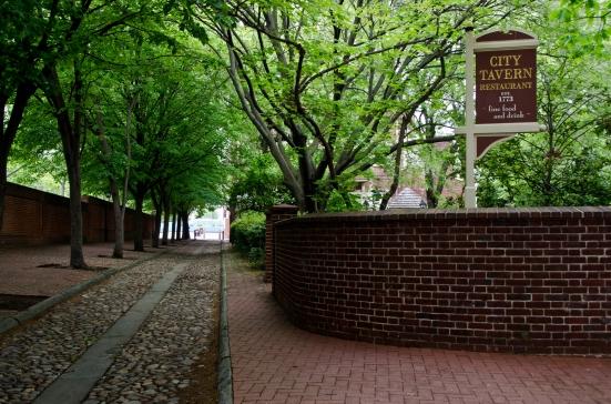 The historic City Tavern in Philadelphia