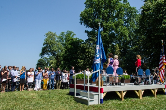 4th of July in Mount Vernon, swearing-in of new citizens
