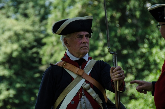 Member of the First VA Regiment at Mount Vernon