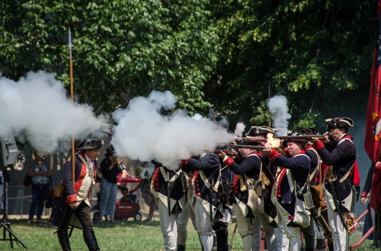 Rifle fire, Mount Vernon