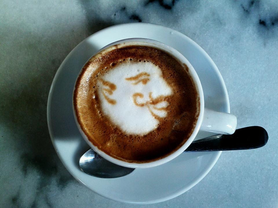 Caficultura coffee art, Old San Juan