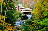An Autumn Wonderland: Frank Lloyd Wright's Fallingwater, Kentuck Knob, and Ohiopyle State Park