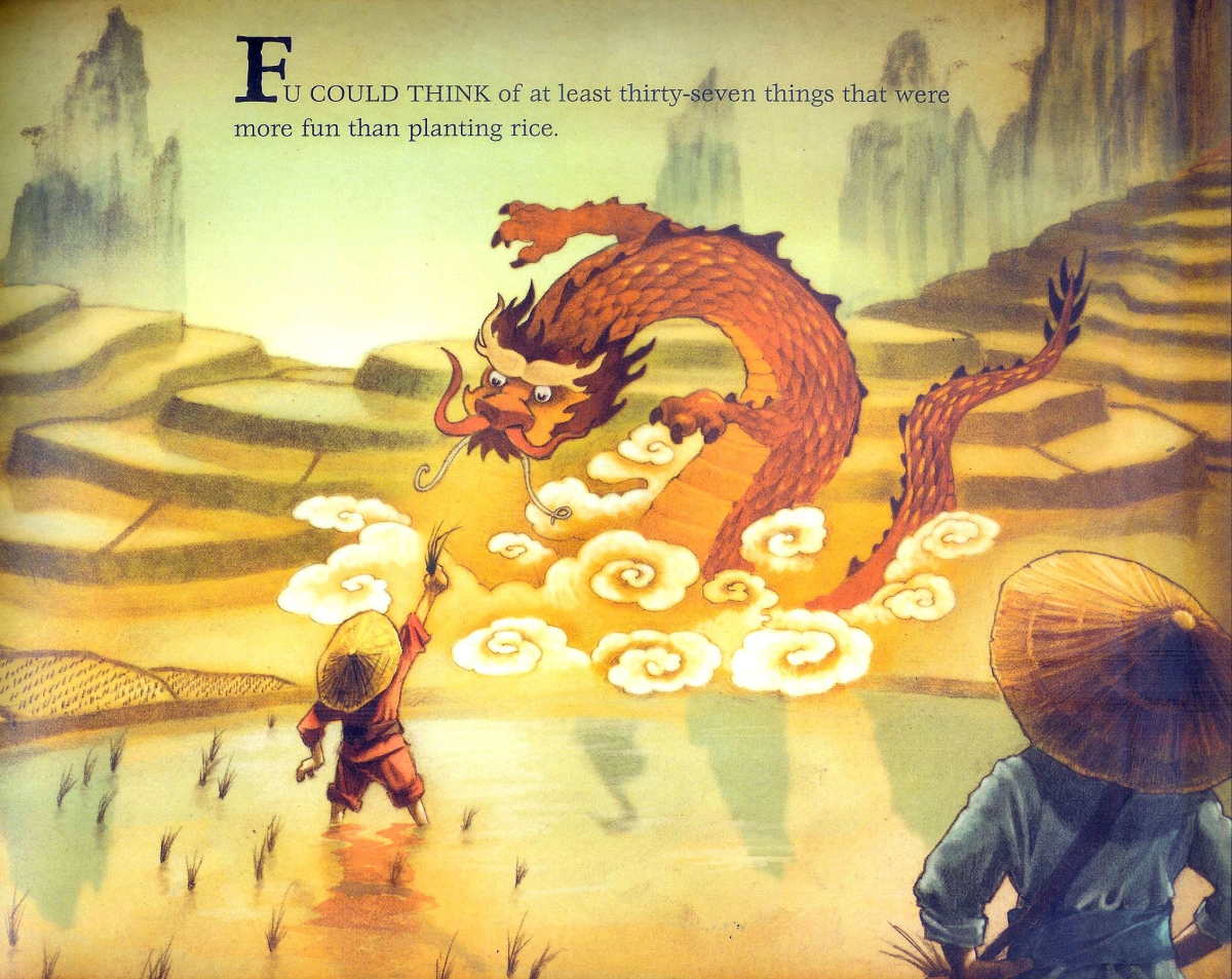 Fu Finds the Way book - illustration