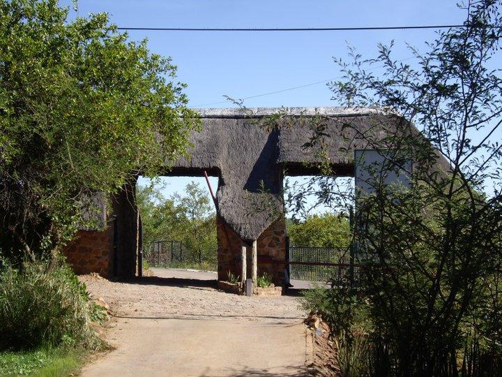 Driving to the Mokolodi Nature Reserve, Botswana