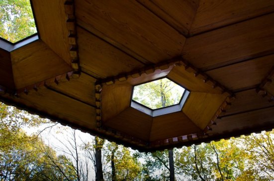 Kentuck Knob balcony