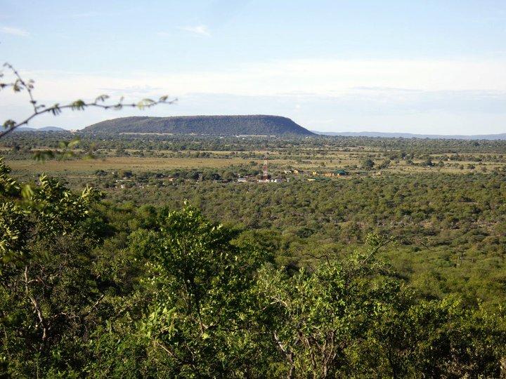 Mokolodi from a hill