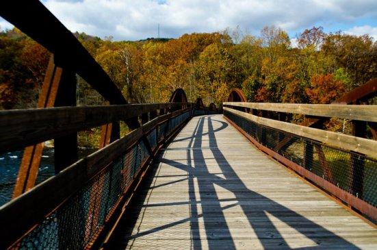 Ohiopyle State Park bridge