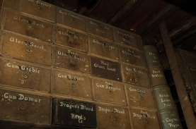 Stabler Leadbeater Apothecary Museum medicine boxes