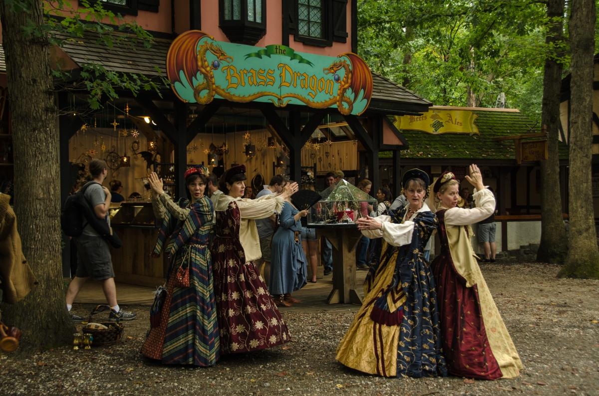 Street singers, Maryland Renaissance Festival