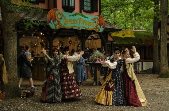 Seraphim women's quartet, Maryland Renaissance Festival