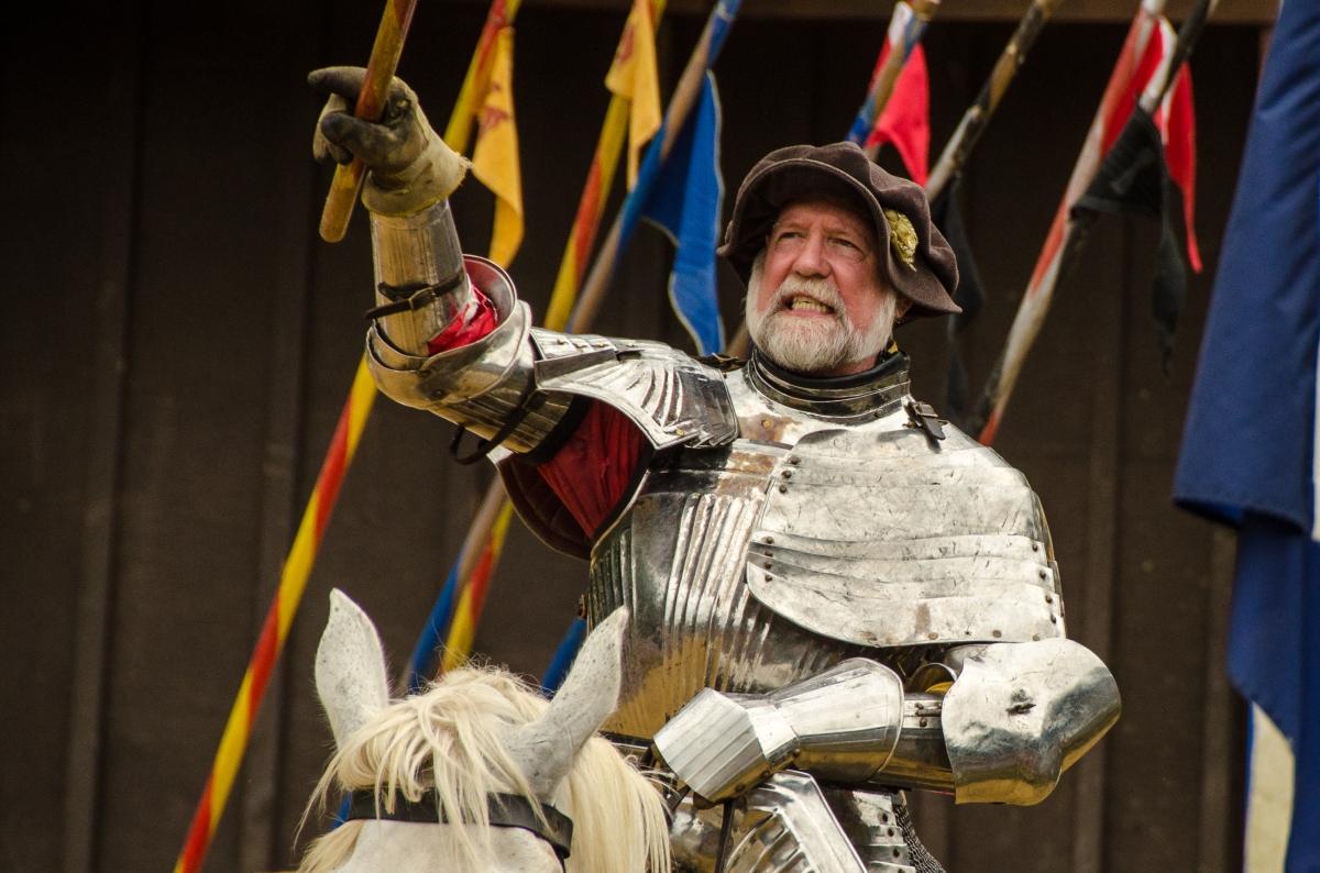 King's knight, Maryland Renaissance Festival