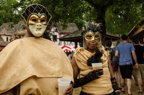 Masks, Maryland Renaissance Festival