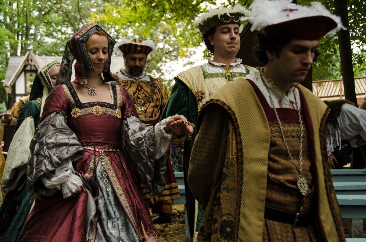 The Royal Procession, Maryland Renaissance Festival