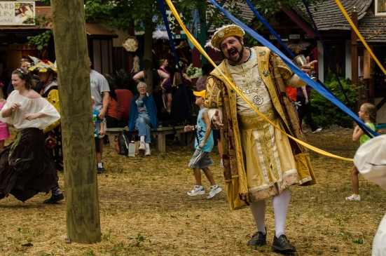 Henry VIII and the children, Maryland Renaissance Festival