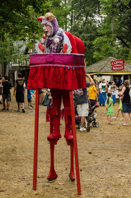 Street performer, Maryland Renaissance Festival