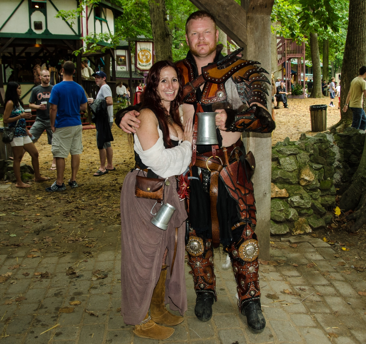 Awesome costumes at Maryland Renaissance Festival