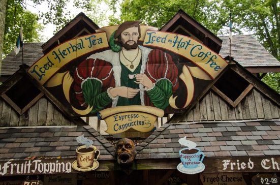 Cappuccino, Renaissance-style, Maryland Renaissance Festival