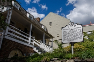 Ramsay House Visitors Center, Old Town Alexandria, VA
