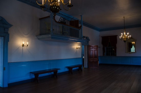 The Ball Room in Gatsby's Tavern - Washington danced here