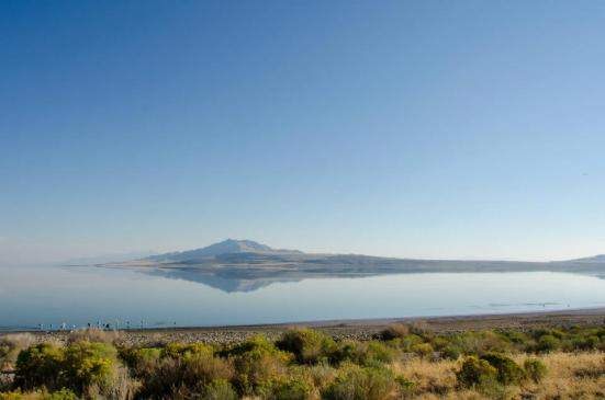Antelope Island State Park - views