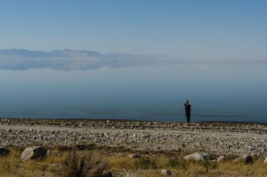 Antelope Island - the Dali dreamscape