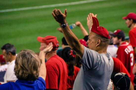 Fans at Nationals Park