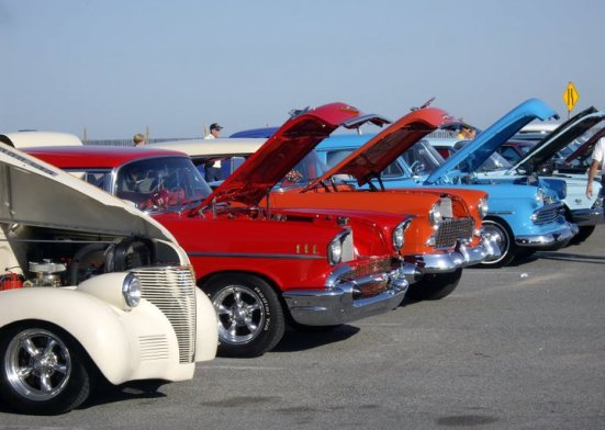 Ocean City classic car convention