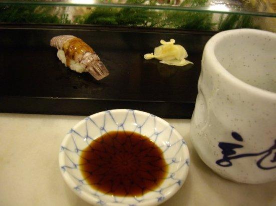 Sushi for breakfast, Tsukiji Fish Market, Tokyo