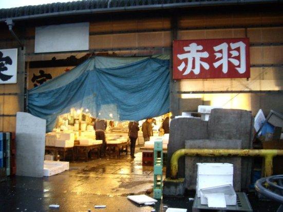 Wholesale market, Tsukiji Fish Market, Tokyo