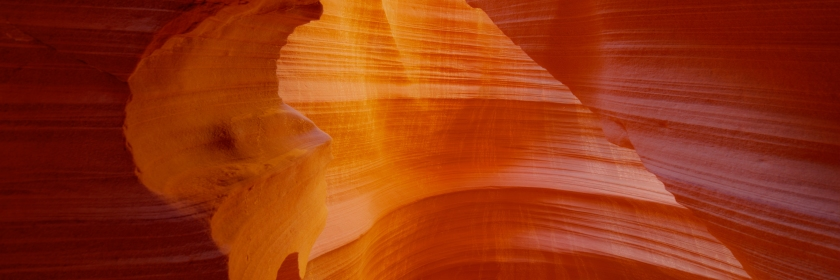Colors of the Owl Canyon, a stunning slot canyon on Navajo lands near Page, Arizona